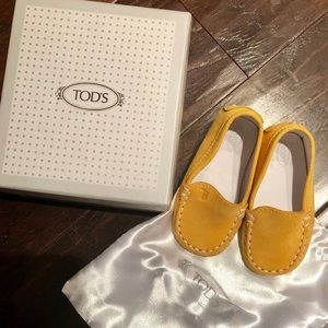 Tod's baby shoes